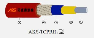 串联恒功率电伴热带结构